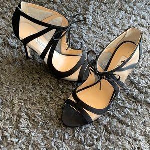 Size 7.5 black heels